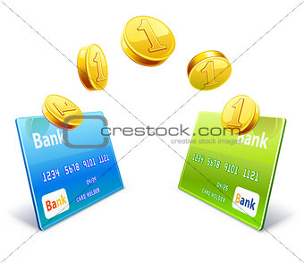 Money transfer from card to card
