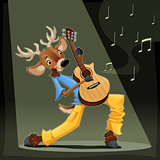 Musician Deer.