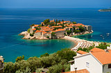 Island of Sveti Stefan 
