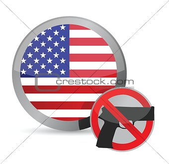 no guns allowed us