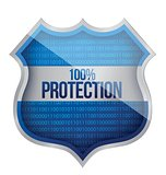 100% Protection concept