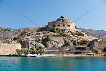 Crete Spinalonga Fortress Greece