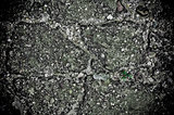 damaged cracked asphalt pattern texture 