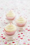 Three cupcakes