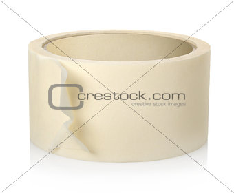 Roll of insulating tape isolated