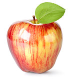 Striped red apple