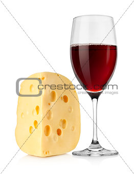 Wine and dutch cheese