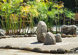 Zen rock garden