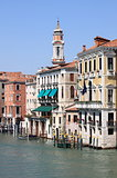 Reinaissance buildings in Venice