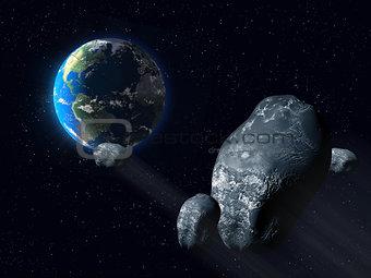 Ominous asteroid