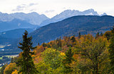 mountains in autumn