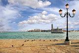 Venetian skyline. Venice, Italy.
