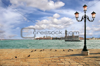 Venetian skyline. Venice, Italy.