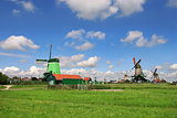 Zaanse Schans village. Netherlands.
