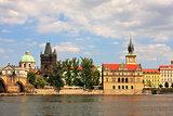 Historic part of Prague.