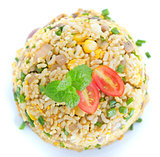 Chinese egg fried rice overview
