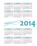 Pocket russian 2014 calendar