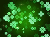 clovers background