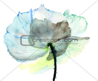 Stylized  flower illustration