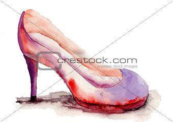 Stylized shoe