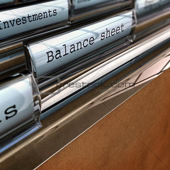 Balance Sheet, Accounting Documents