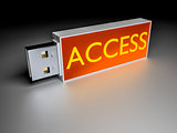 Access usb drive