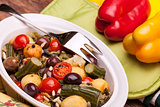 Vegetarian Cuisine - Mix Of Stewed Vegetables