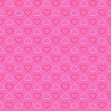 vector heart seamless pattern