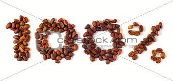100% coffee