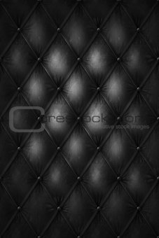 luxury black leather