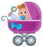 Baby carriage theme image 3