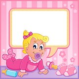 Baby girl theme image 1