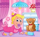 Baby girl theme image 2