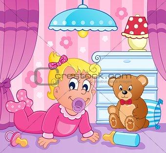 Baby girl theme image 2