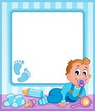 Baby theme frame 1