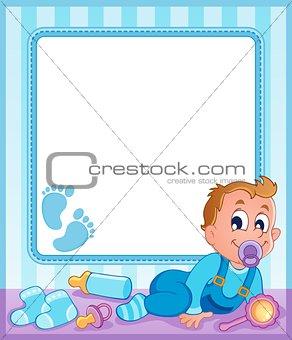 Baby theme frame 1