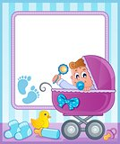 Baby theme frame 4