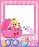 Baby theme frame 5