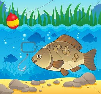 Freshwater fish theme image 2
