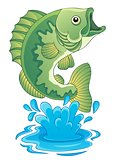 Freshwater fish theme image 6