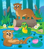 River fauna theme image 3