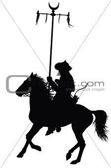 Vector horseman