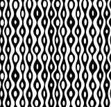 Seamless abstract monochrome pattern.