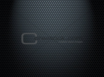 metal comb grate background