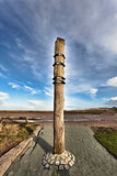 City of Hojer, Denmark, Flood column