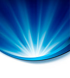 Blue elegant abstract background illustration