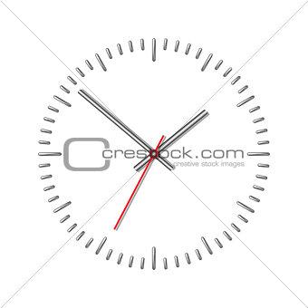 Wall mechanical clock