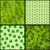 Seamless St. Patrick&#39;s Collection