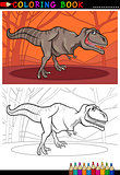 tyrannosaurus rex dinosaur for coloring