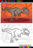 tyrannosaurus rex dinosaur for coloring